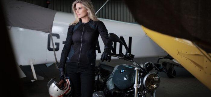 Dámská letní motocyklová bunda Knox Urbane PRO